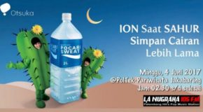 Sahur Bareng Pocari Sweat & La Nugraha FM Palembang